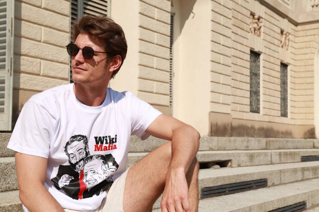 T-Shirt WikiMafia Falcone Borsellino