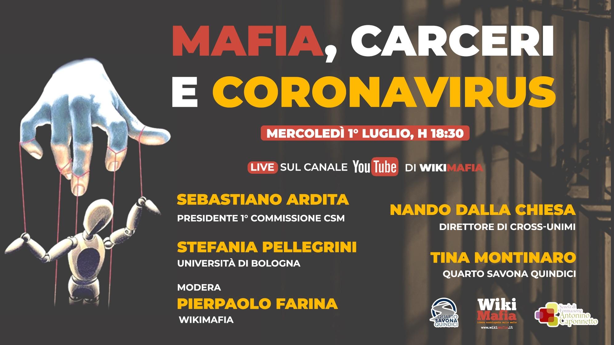 Mafia carceri coronavirus