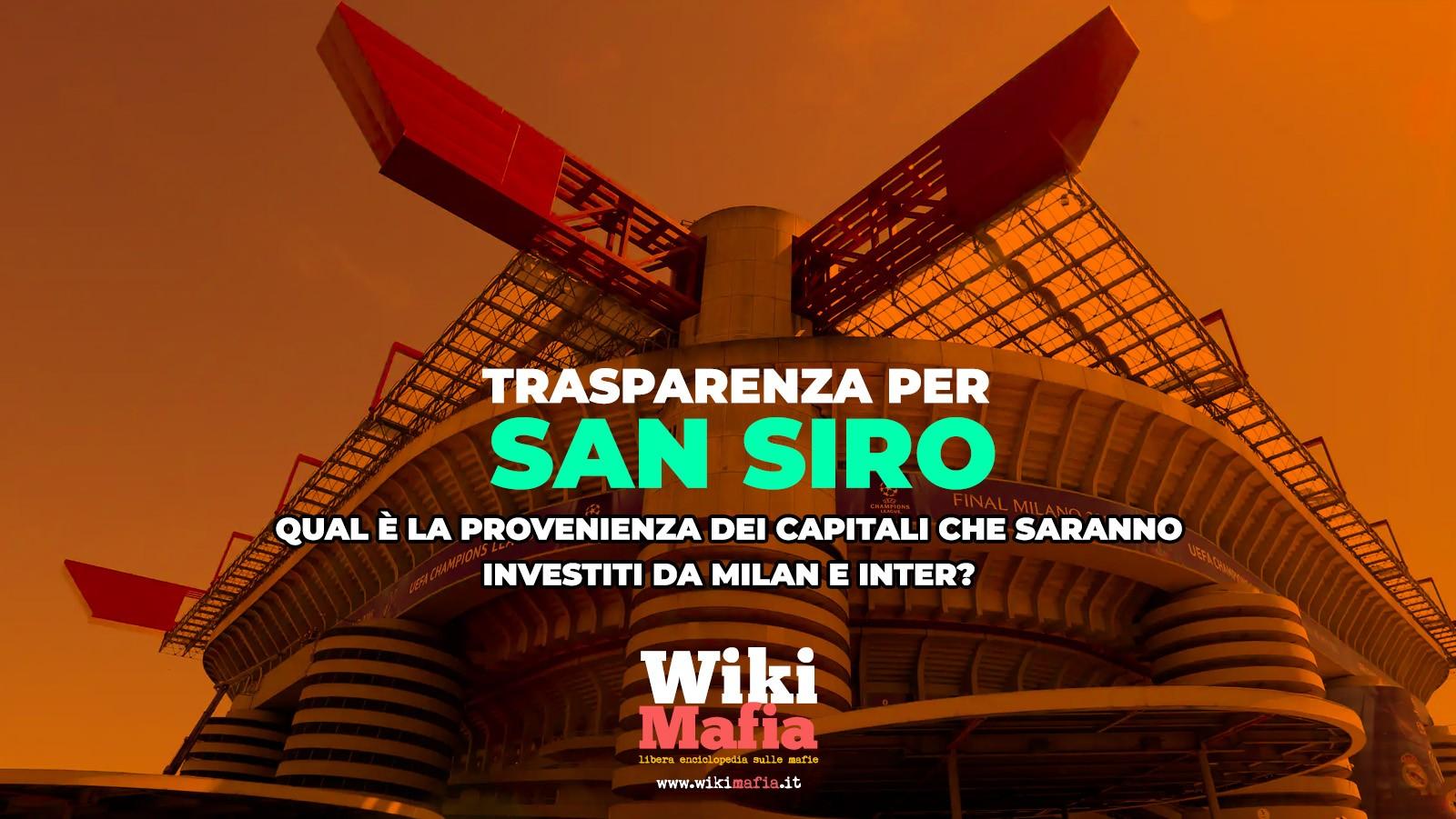 San Siro Appello WikiMafia