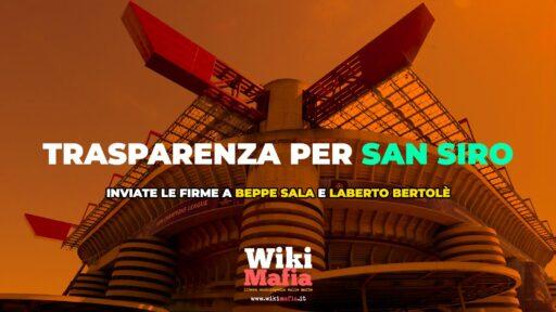 Appello San Siro, inviate le firme a Beppe Sala