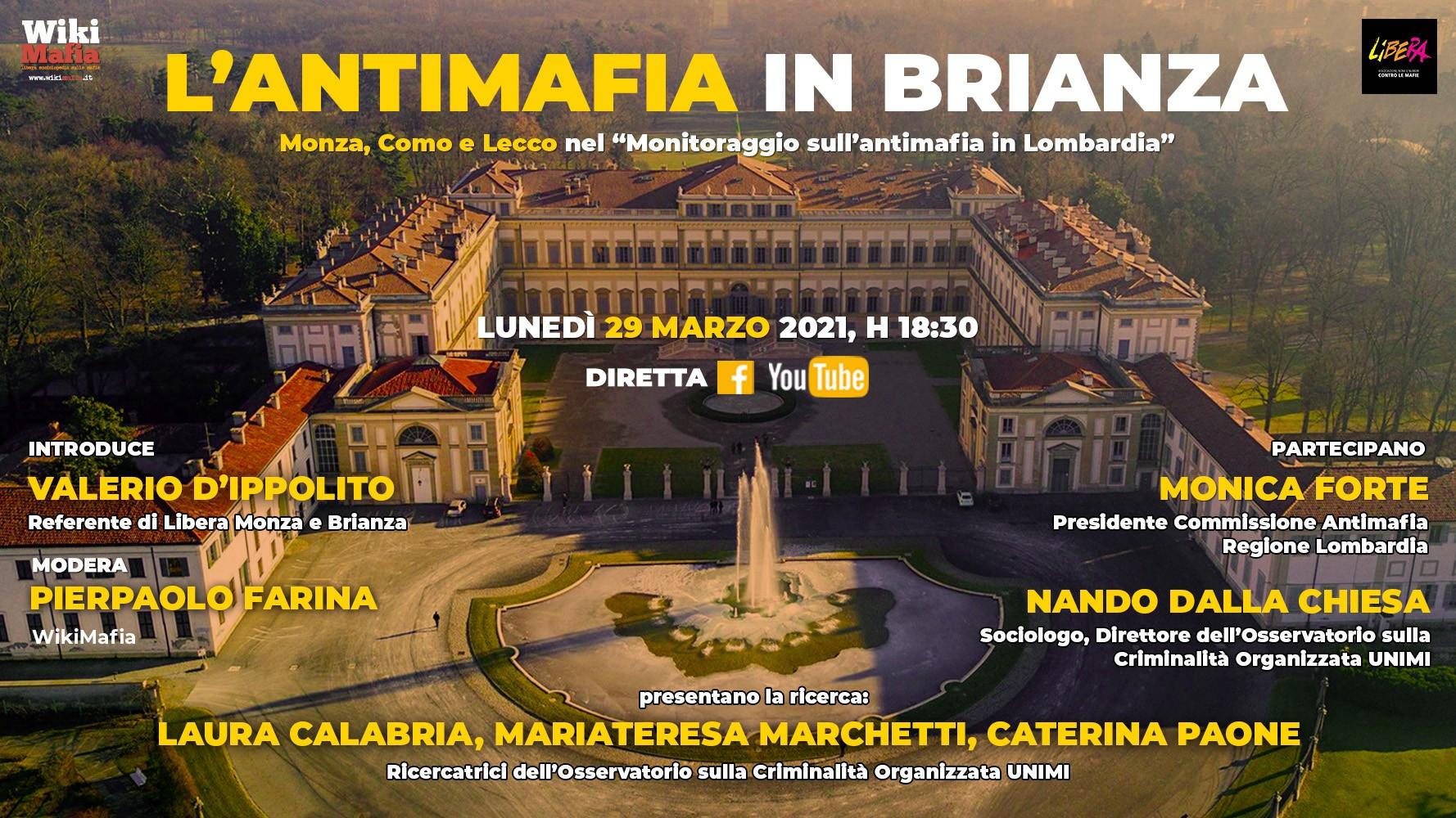 Antimafia in Brianza WikiMafia Libera