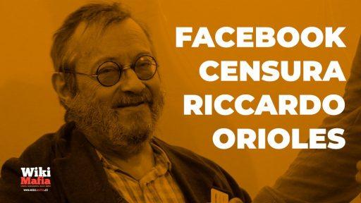 Facebook censura Riccardo Orioles: ban per 7 giorni