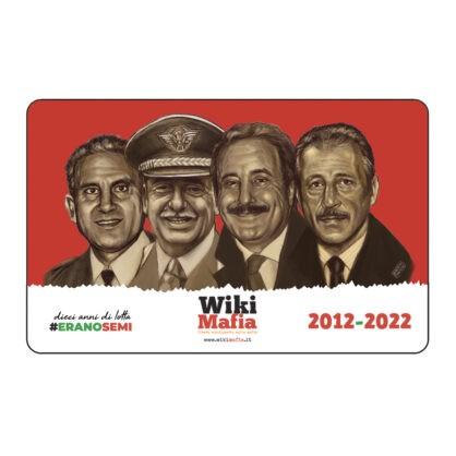Tessera WikiMafia 2022 front